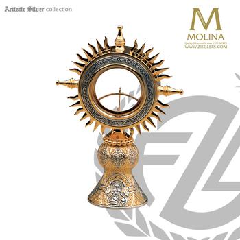 Ostensoria Tassilo Design Artistic Silver 230 Spain
