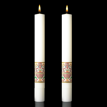 Investiture Complementing Altar Candle 4 Sizes CC809866 USA