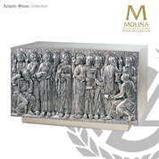12 apostles tabernacle available in 2 sizes and 3 finishes made in spain by Molina AS4015