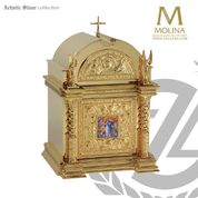 "Immaculate Conception Tabernacle  | 30""x 19-3/8""x 17-3/8""