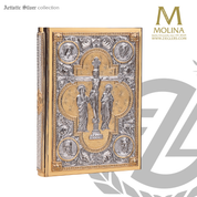 Book of Gospels Cover Crucifix Design 2000 Spain