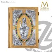 Book of Gospels Cover Christ the Teacher Design 4500-E Spain