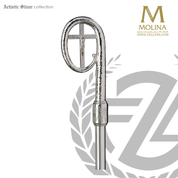 Crozier in Silver or Gold Plated finish style 404 made in Spain