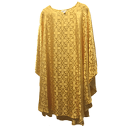 SOLD OUT 2018 - Chasuble | Gold | Damask Fabric | Gothic Cut