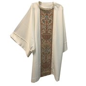 Dalmatic | Off White | Damask banding | Gaiser