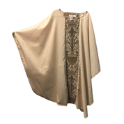 Chasuble | Beige | Damask Banding Center Only| Autom