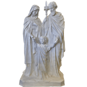 Holy Family| Outdoors Statue | 60""