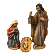 Holy Family  | Statue | Linden Wood |  24""