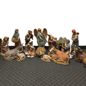 15 piece Custom Nativity|