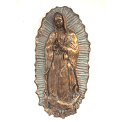 Our Lady of Guadalupe | Wall Plaque | Fiberglass | 32""