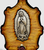 Votive Stand with Our Lady of Guadalupe and Elements from the Holy Land Imported from Jerusalem BAVSG