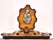 Votive Stand The Holy Family with Elements from the Holy Land Imported from Jerusalem BAVSHF