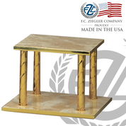 Thabor Table Italian Marble Square Style 952 Ziegler USA ZZ952