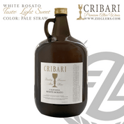 White Rosato Sacramental Catholic Altar Wine with a light sweet taste and pale straw color for Eucharist Mass Communion Celebration Cribari 4 liter jug CVWR