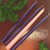 Home Advent Taper Candles measuring seven eighths inches by 10 inches with 3 purple and 1 pink DVADV10