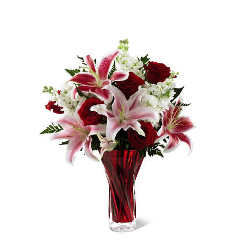 Gorgeous Bouquet Of Lilies