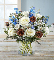 Winter Wishes Bouquet for Kiwanis