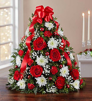 Holiday Flower Tree for Kiwanis