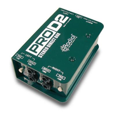 Radial ProD2 Angle at ZenProAudio.com