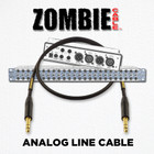 ZOMBIE Cable Analog Line Details at ZenProAudio.com