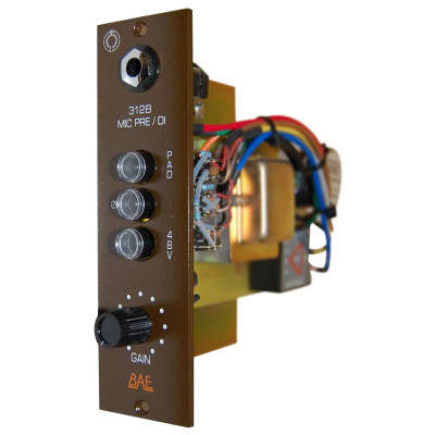BAE 312B 500 Series Module Angle at ZenProAudio.com