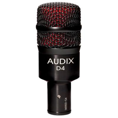 Audix D4 Front at ZenProAudio.com