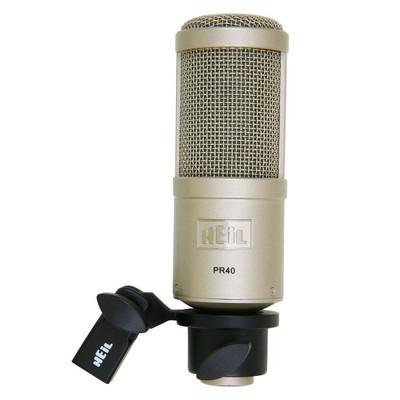 Heil Sound PR 40 Front at ZenProAudio.com