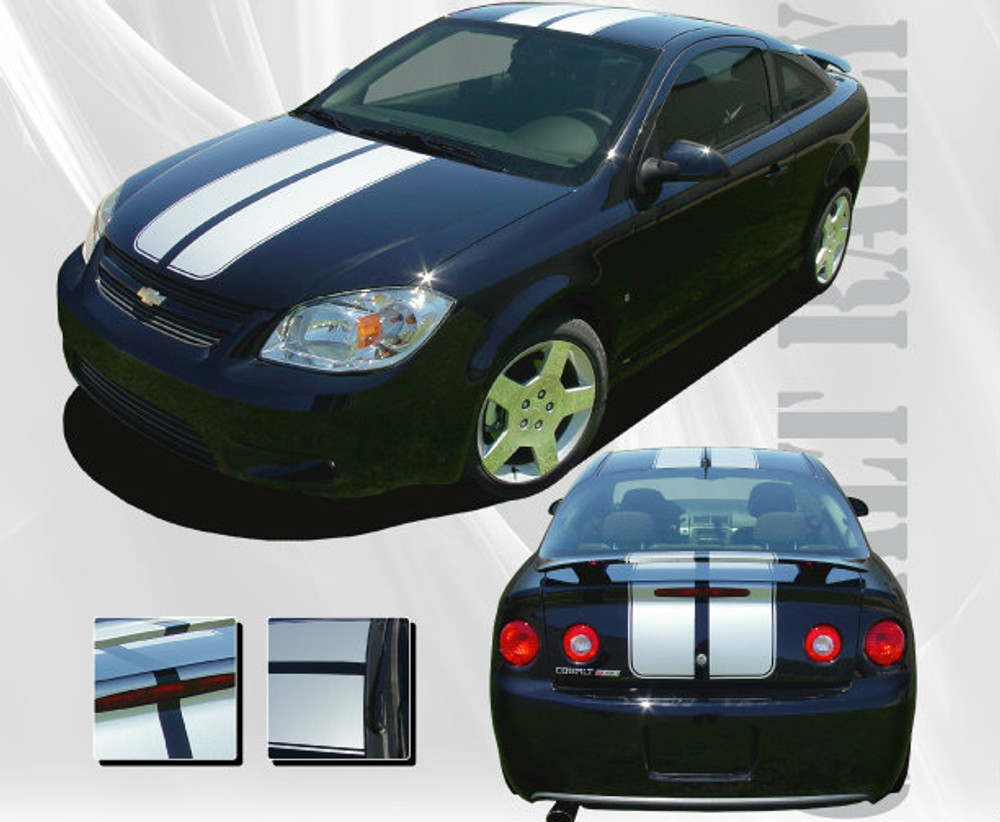 2005-2010 Chevrolet Cobalt Rally Graphic Kit (Also Fits Pontiac G5)