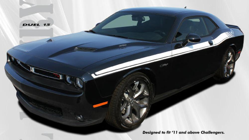 2011-2017 Duel Challenger Stripe Kit