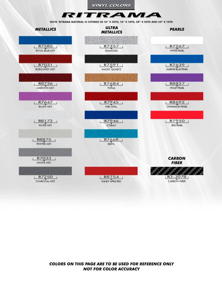 2013-2016 Dodge Dart Rally Racing Stripe Kit
