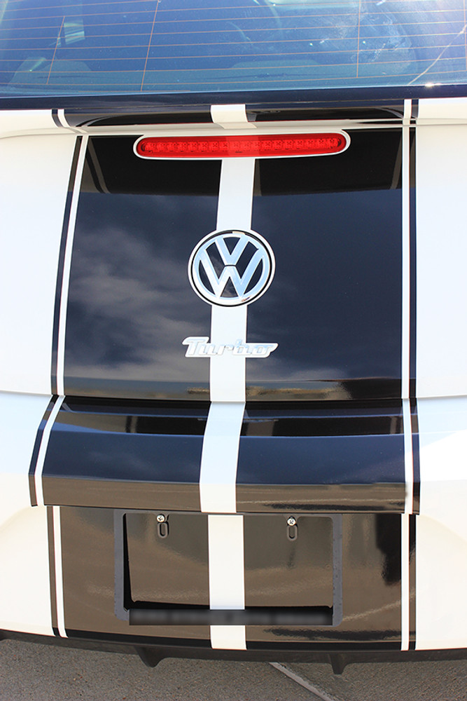 2012-2016 Volkswagen Beetle Rally Stripe Kit