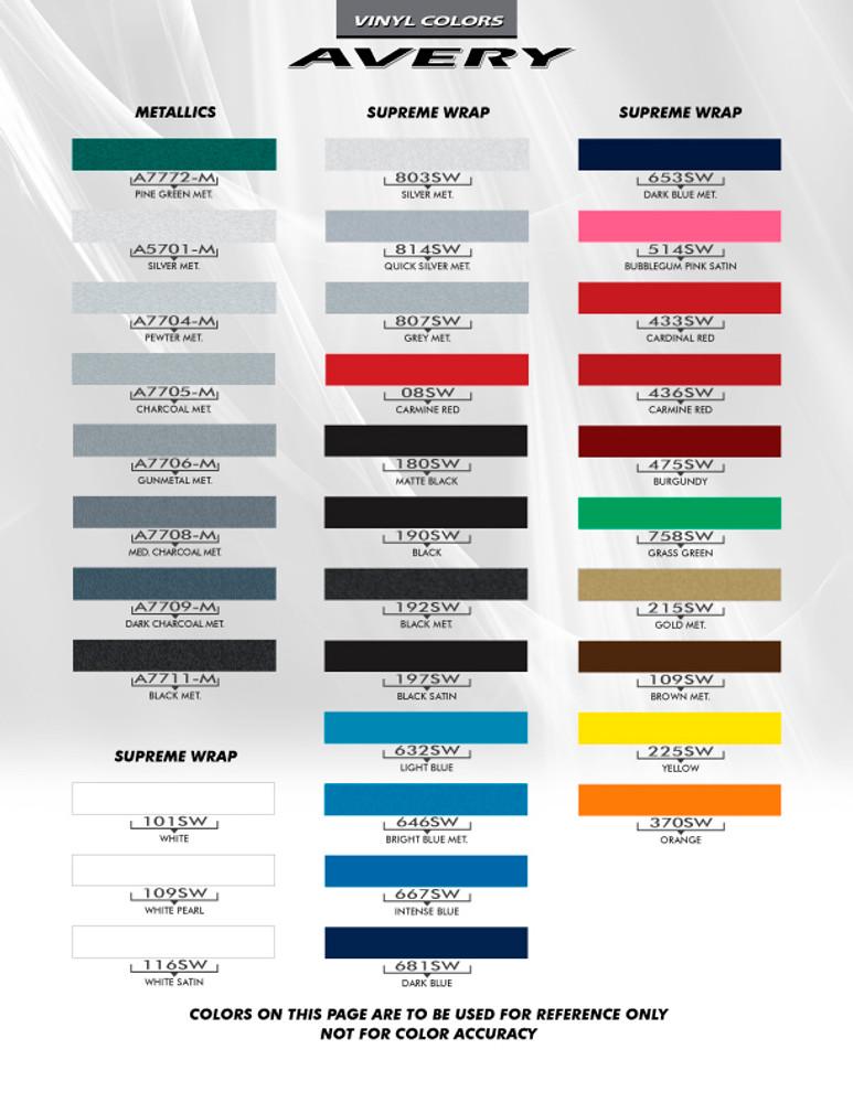 2012-2017 Chevy Sonic Boom Graphic Kit