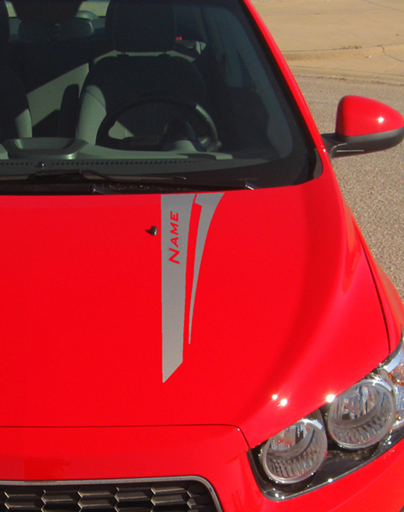 2012-2017 Chevy Sonic Flare Graphic Kit