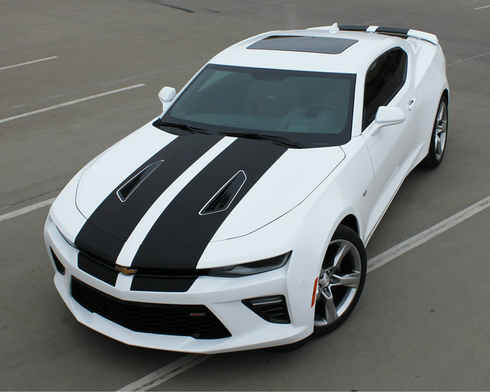 2016 2017 chevy camaro cam sport racing stripes. Black Bedroom Furniture Sets. Home Design Ideas