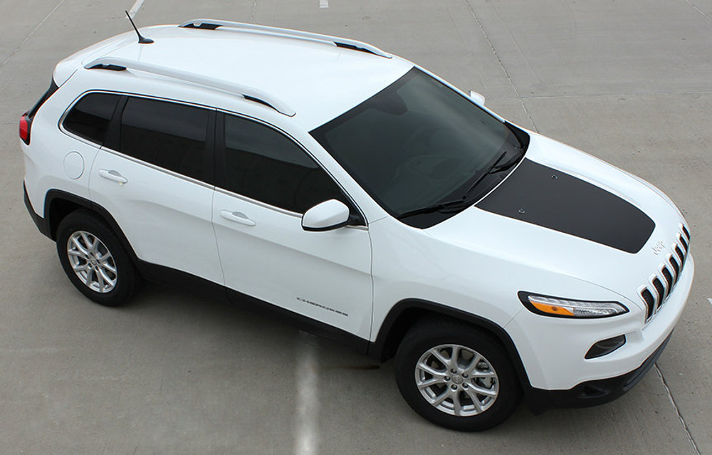 2014-2017 Jeep Cherokee T-Hawk Vinyl Hood Graphic Kit