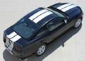 2013 - 2014 Ford Mustang Thunder Graphic Kit Top Rear Facing