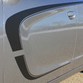 2015 Dodge Charger C-Stripe Graphic Kit Close Up