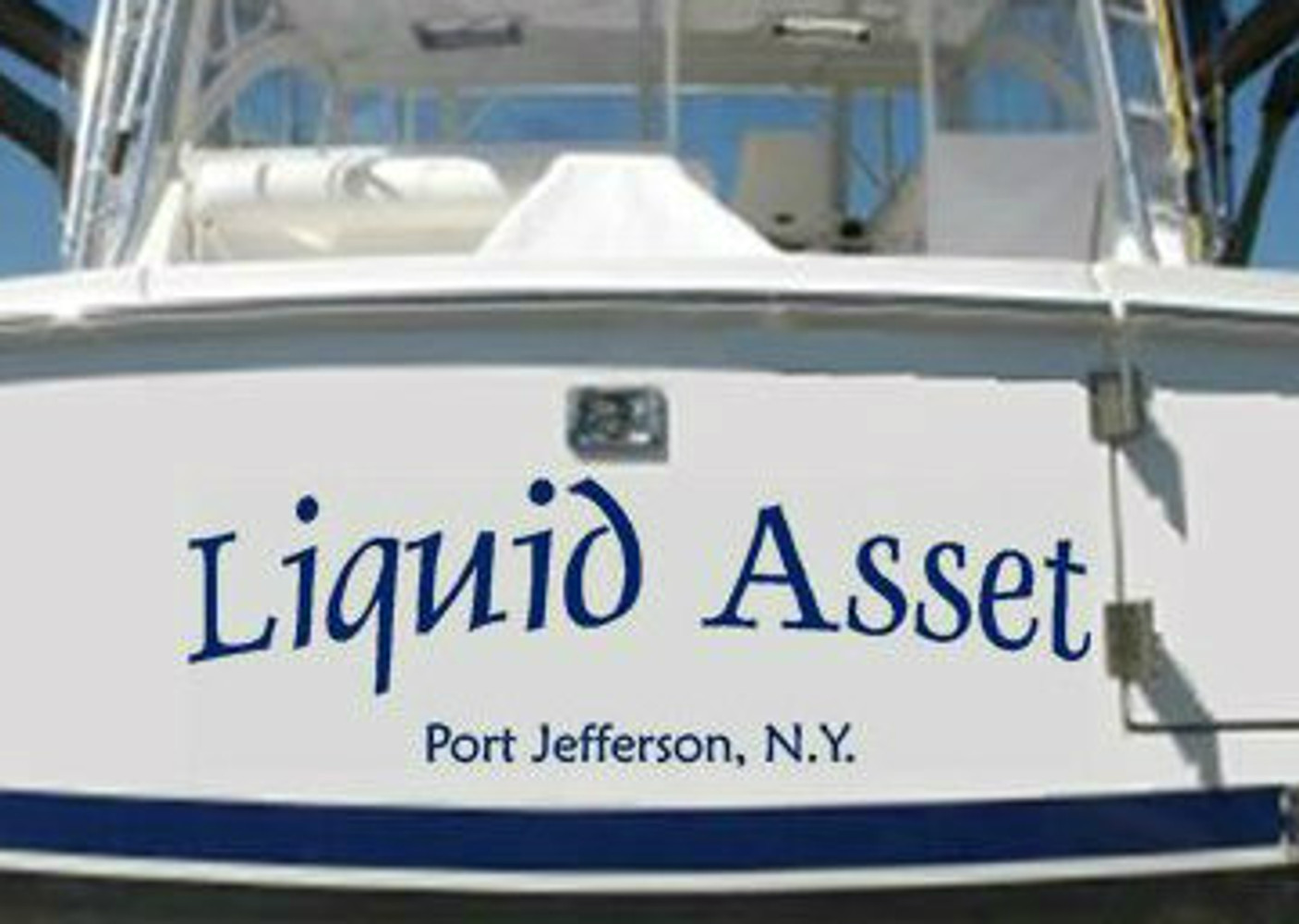 Is Your Boat Ready for Spring? She Will Be with New Stripes, Name and Registration Numbers