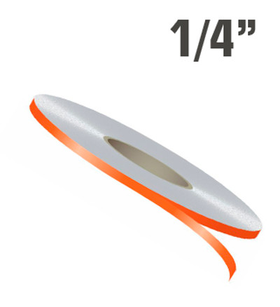 "1/4"" x 150' Single Line Single Color Vinyl Stripe Roll"