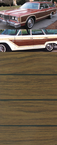Colonial Teak on Ford Country Squire