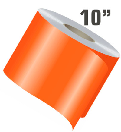 "10"" X 50' Single Line Single Color Vinyl Stripe Roll"