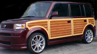 2005-2007 Toyota Scion XB Woody Woodgrain Kit