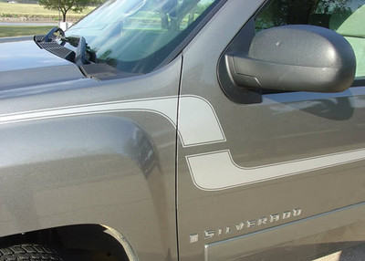 2006-2013 Chevy Silverado Flex Graphic Kit