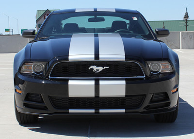 2013 - 2014 Ford Mustang Thunder Graphic Kit Front