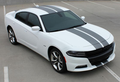 Dodge Charger N-Charge Rally Stripes Graphic Kit Diagonal