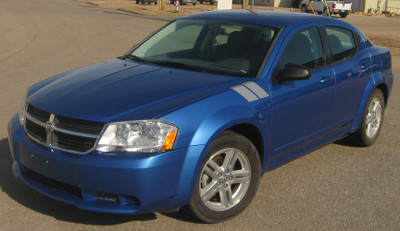 2008-2014 Dodge Avenger Double Bar Graphic Kit