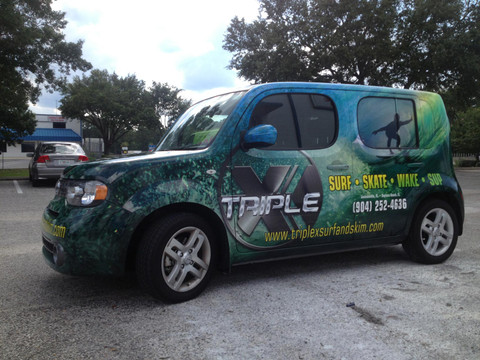 How Effective Are Vehicle Wraps? Stripeman.com Can Design & Install Your Vehicle Wraps in Jacksonville Florida