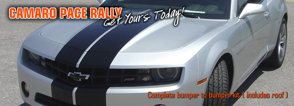 Camaro Pace Rally Full Bumper Racing Stripes