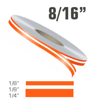 8 16 Quot X 150 Double Line Single Color Vinyl Pinstripe Roll