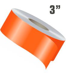 "3"" Wide Single Line Single Color Stripe Roll"